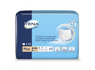TENA® Protective Underwear Plus - Small - Incontinence - Adult - Pull-up