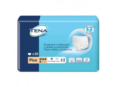 TENA® Protective Underwear Plus - Medium - Incontinence - Adult - Pull-up